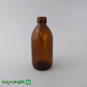 شیشه 250 گرد قهوه ای SH1000