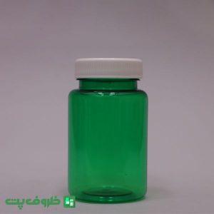 جار 100 استوانه سبز درب معمولی jh7007