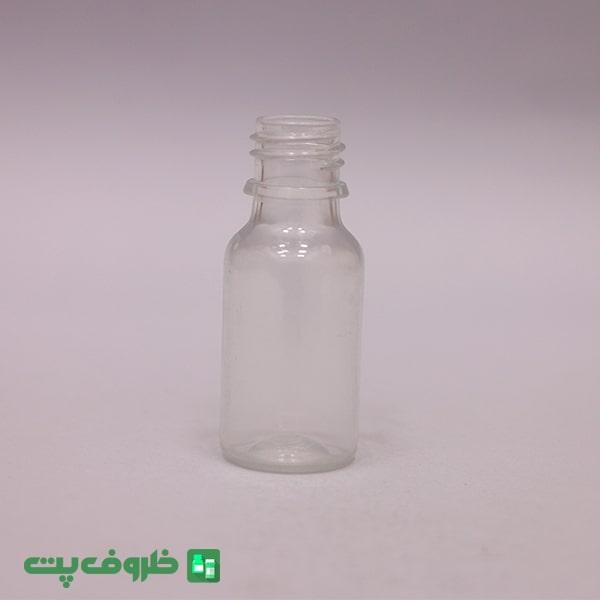بطری 18 سی سی گرد شفاف p2031